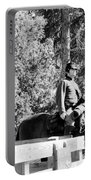 Riding Soldiers B And W II Portable Battery Charger