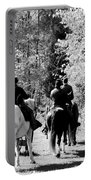 Riding Soldiers B And W Portable Battery Charger