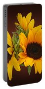 Ring Of Sunflowers Portable Battery Charger