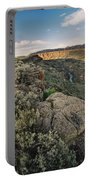 Rio Grande Gorge Above Taos Junction Bridge Portable Battery Charger