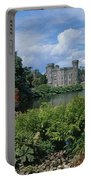 River In Front Of A Castle, Johnstown Portable Battery Charger