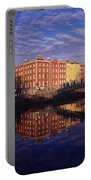 River Liffey And Halfpenny, Bridge Portable Battery Charger