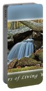 Rivers Of Living Water Portable Battery Charger