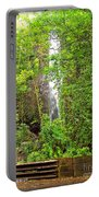 Roadside Waterfall Portable Battery Charger