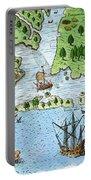 Roanoke Landing, 1585 Portable Battery Charger