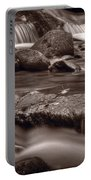 Roaring Fork Great Smokey Mountains Bw Portable Battery Charger by Steve Gadomski
