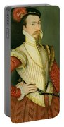 Robert Dudley - 1st Earl Of Leicester Portable Battery Charger