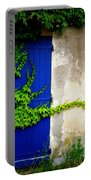 Robust Vine On Blue Door Portable Battery Charger