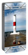Rochester New York Harbor Lighthouse Portable Battery Charger