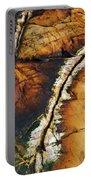 Rock Detail, Killarney Provincial Park Portable Battery Charger