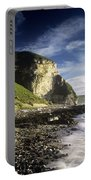 Rock Formations At The Coast Portable Battery Charger