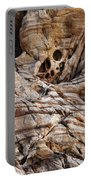 Rock Texture Portable Battery Charger by Kelley King