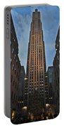Rockefeller Tree Portable Battery Charger