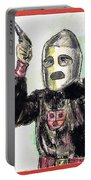 Rocket Man Portable Battery Charger by Mel Thompson