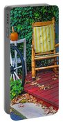 Rocking In Autumn Portable Battery Charger