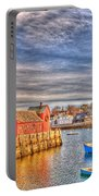 Rockport Water Color - Greeting Card Portable Battery Charger