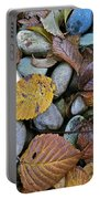 Rocks And Leaves Portable Battery Charger