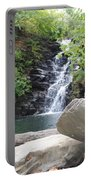 Rocks Of The Falls Portable Battery Charger
