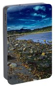 Rocky Beach In Western Canada Portable Battery Charger