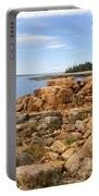 Rocky Coast Of Maine Portable Battery Charger