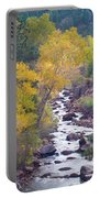 Rocky Mountain Golden Canyon Scenic View Portable Battery Charger
