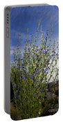 Romaine Lettuce Flowers Portable Battery Charger by Donna Munro
