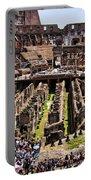 Roman Coleseum Interior Portable Battery Charger