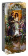 Romance In Venice  Fragment Balcony Portable Battery Charger