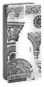 Romanesque Ornament Portable Battery Charger
