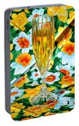 Romantic Gold Portable Battery Charger