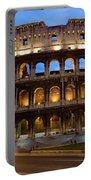 Rome Colosseum Dusk Portable Battery Charger