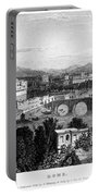 Rome: Scenic View, 1833 Portable Battery Charger