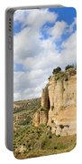 Ronda Cliffs In Andalusia Portable Battery Charger
