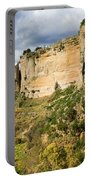 Ronda Rock In Andalusia Portable Battery Charger