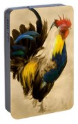 Rooster On The Prowl 2 - Vintage Tonal Portable Battery Charger