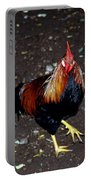 Rooster Strut Portable Battery Charger