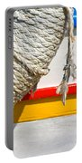 Rope And Boat Detail Portable Battery Charger