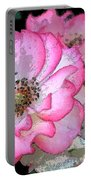 Rose 129 Portable Battery Charger by Pamela Cooper