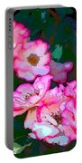 Rose 130 Portable Battery Charger by Pamela Cooper