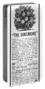 Rose Advertisement, 1890 Portable Battery Charger