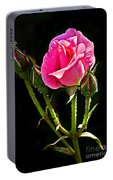 Rose And Buds Portable Battery Charger
