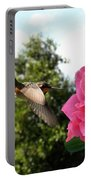 Rose And Rufous Portable Battery Charger