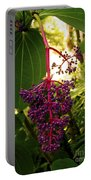 Rose Grape Portable Battery Charger
