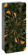 Rose Kaleidoscopic  Portable Battery Charger