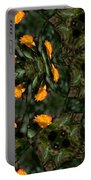 Rose Kaleidoscopic Mirror  Portable Battery Charger