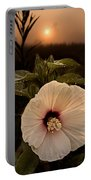 Rose Mallow Portable Battery Charger
