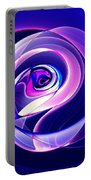 Rose Series - Violet-colored Portable Battery Charger