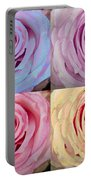 Rose Spiral Colorful Mix Portable Battery Charger