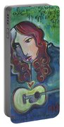 Roseanne Cash Portable Battery Charger