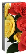 Roses Closeup Portable Battery Charger